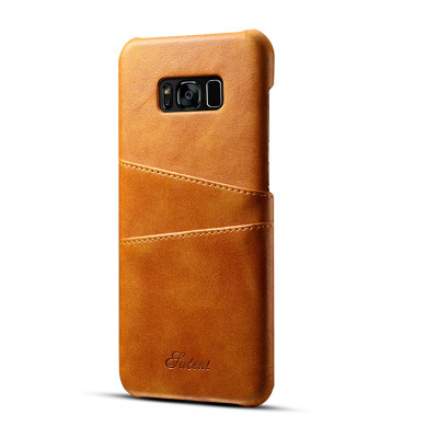 Samsung Galaxy S8 Case Casebus - Classic Suteni Wallet Phone Case - Slim Leather Back Credit Card Holder Protective Case