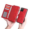 Casebus - Classic Crossbody Detachable Magnetic Wallet Phone Case - High Capacity with Strap - 020#