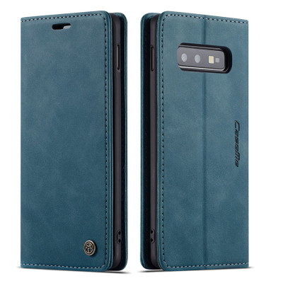 Samsung Galaxy S10e Case Casebus - Slim Folio Wallet Phone Case - Leather Credit Card Holder Kickstand Magnetic Flip Protective Case - 013#