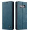 Casebus - Slim Folio Wallet Phone Case - Leather Credit Card Holder Kickstand Magnetic Flip Protective Case - 013#