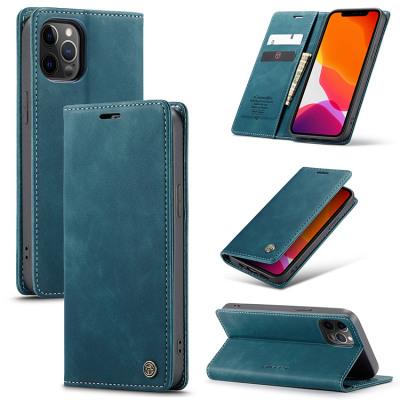 Case Casebus - Slim Folio Wallet Phone Case - Leather Credit Card Holder Kickstand Magnetic Flip Protective Case - 013#