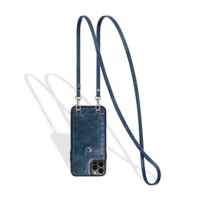 Case Casebus - Slim Crossbody Wallet Phone Case - Detachable Strap Card Holder Clutch Leather Back Case