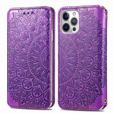 Case Casebus - Bloom Wallet Phone Case - Premium Leather, Credit Card Holder, Flip Kickstand Shockproof Case