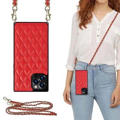 Case Casebus - Crossbody Leather Phone Case for Lady - with Detachable Adjustable Strap