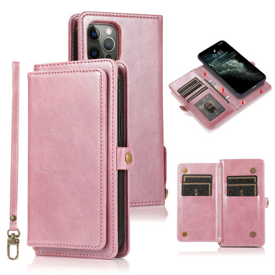Samsung Galaxy S10e Case Casebus - Classic Detachable Wallet Phone Case - 7 Card Slots, 2 Money Pockets, Magnetic Closure, 2 in 1 Folio Flip, Leather, Removable Strap, Protective Cover